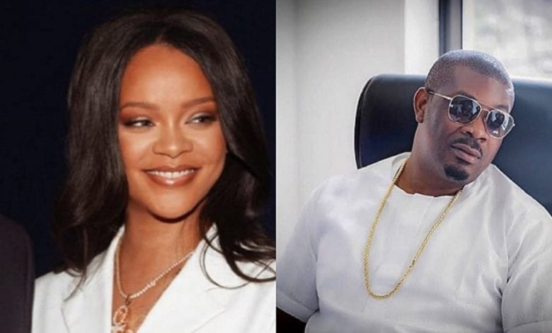 Don Jazzy, Rihanna, Photoshop, chanteur