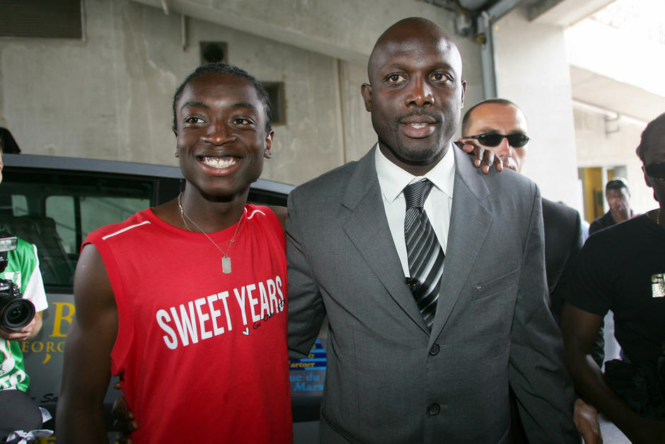 George weah, fils, condamnation
